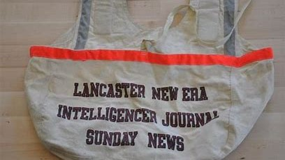 Lancaster Newspaper bag (2)